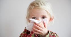 Высокая температура и лающий кашель