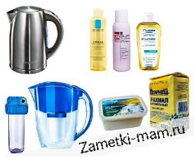 Средство для смягчения воды для купания детей с атопическим дерматитом