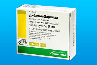 Можно ли колоть дибазол без папаверина при повышенном давлении?