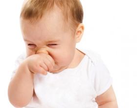 У месячного ребенка не дышит нос из за соплей что делать