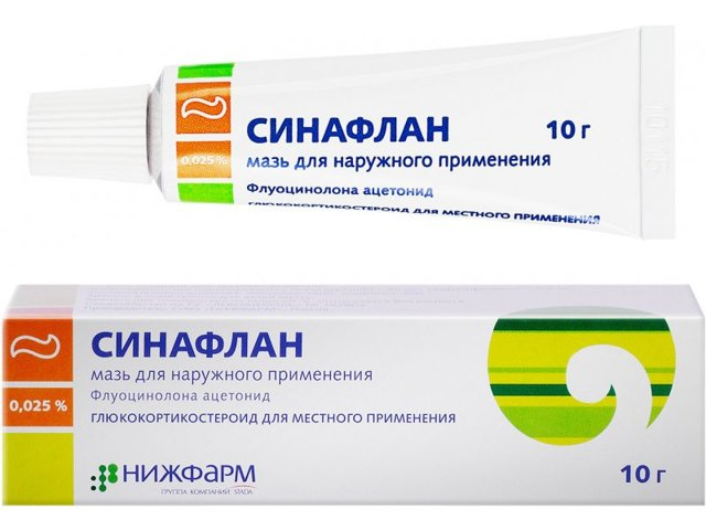 Можно ли применять синафлан при периоральном дерматите?