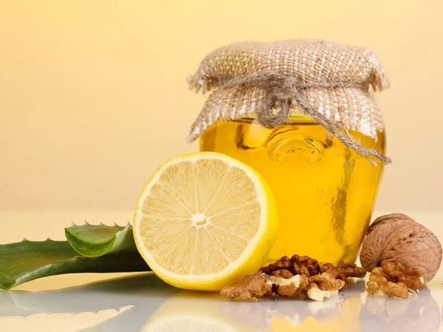 Алоэ с лимоном от кашля