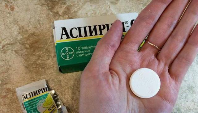 Спиртное и аспирин – совместимость