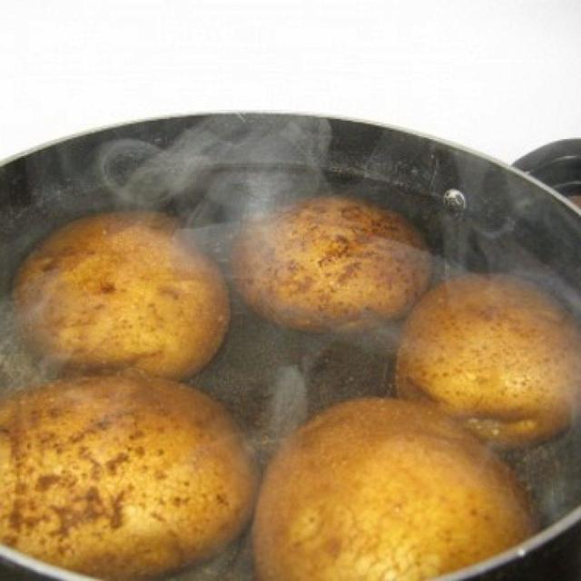 От кашля картошка на грудь