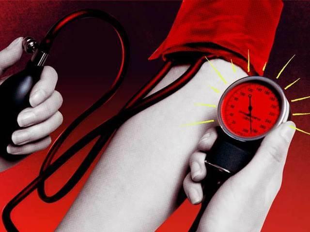 Повышенное давление крови с тяжелыми осложнениями со стороны цнс