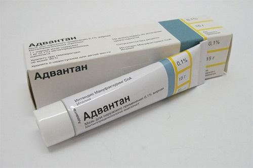 Адвантан крем для грудничков от пеленочного дерматита