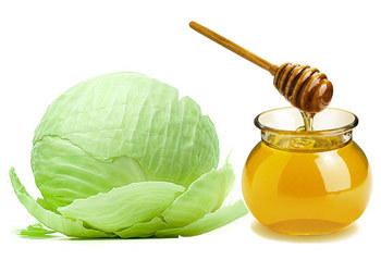 При кашле капуста с медом